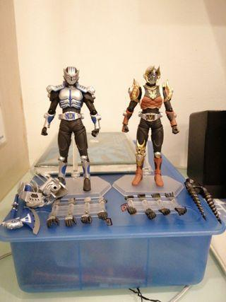 Kamen Rider Tiger and Emperer Figma