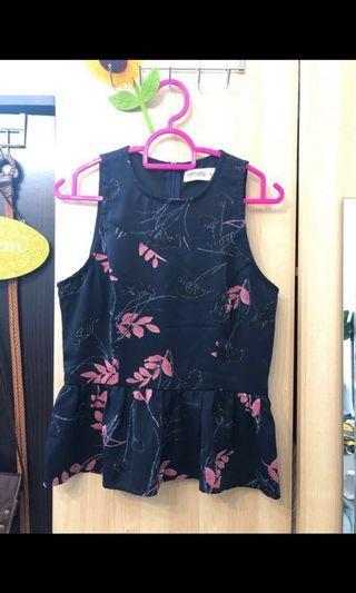 Playdress Floral Peplum Top