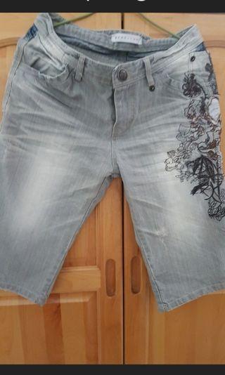 🚚 韓製灰色牛仔褲