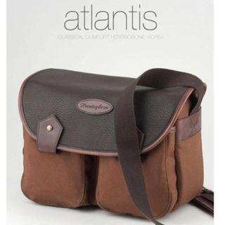 Herringbone Atlantis Medium Brown Camera Bag