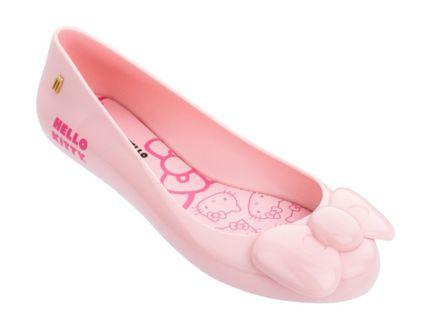 Melissa x Hello Kitty Pink Ribbon 💯 Authentic US7 $95