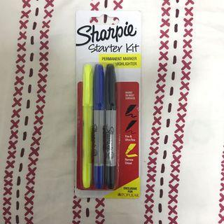 Sharpie Permanent Markers & Highligter Set