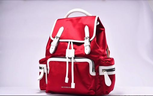 e8e3a0ad4b3f burberry backpack authentic