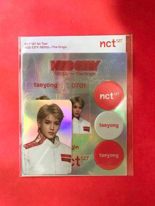 NCT 127 Neo City Goods Deco Sticker Kit