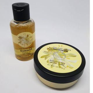 The Body Shop - Body Butter & Shower Gel Moringa