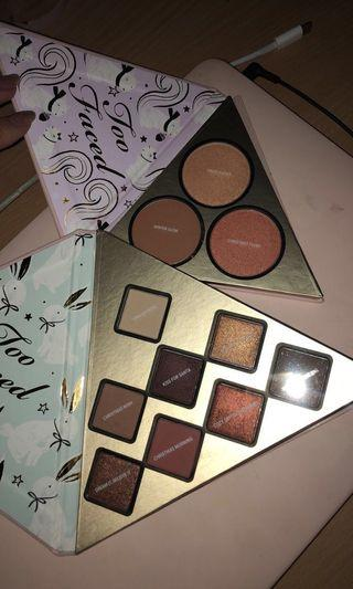 2x Too faced palettes