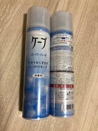 日本直送✈️ 花王CAPE 一整日 Hair Spray空氣感髮型噴霧