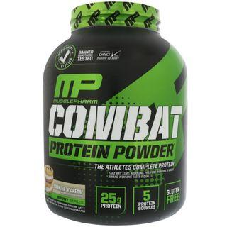 AVAIL MusclePharm, Combat Protein Powder, Cookies 'N' Cream, 4 lbs (1814 g) SAVE