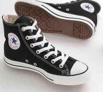 Converse High Cut Black all star