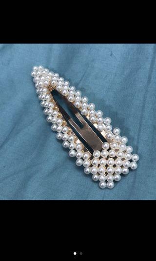 🚚 珍珠大髮夾
