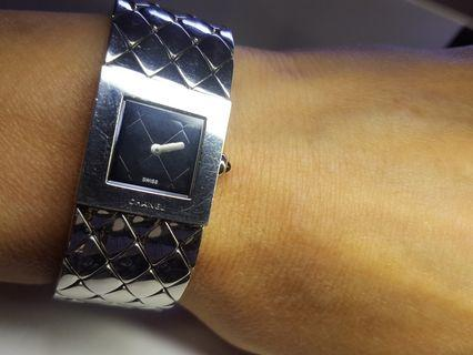 Chanel Matelasse Ladies Square香奈兒腕錶