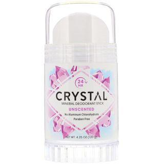 AVAIL Crystal Body Deodorant, Mineral Deodorant Stick, Unscented, 4.25 oz (120 g)