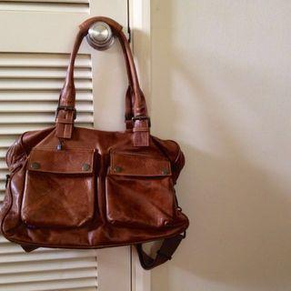 🚚 Original Belstaff Biker's Leather Bag