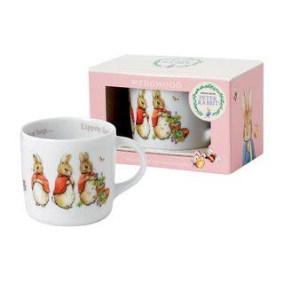 Retail £16 / $28! Peter Rabbit Girl's / Kid's / Children's Single Handled Mug