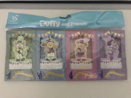 Duffy and Friends memo pad 便條紙