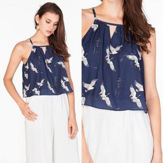 The Closet Lover TCL Kayla Top in Navy