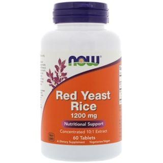 AVAIL Now Foods, Red Yeast Rice, 1200 mg, 60 Tablets