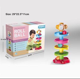 🚚 Baby toy helix ball roll
