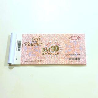 AEON Vouchers worth RM 500