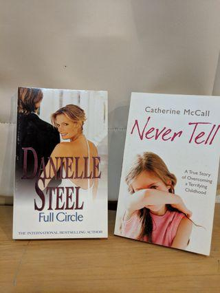 🚚 Books - Full Circle by Danielle Steel & Never Tell by Catherine McCall #EndgameYourExcess