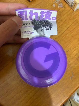 日規髮蠟 gatsby紫色