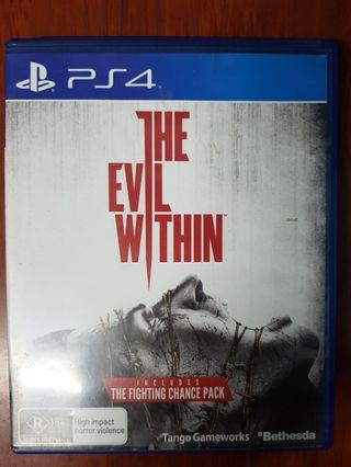 PS4 The Evil Within (R4)