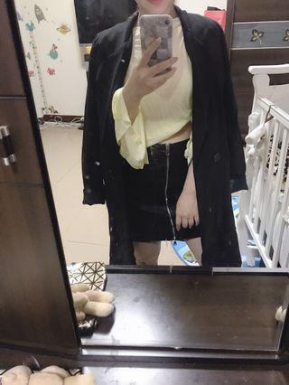 長版西裝外套