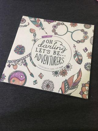 [PRICE REDUCED] TYPO's Between The Lines Colouring Book