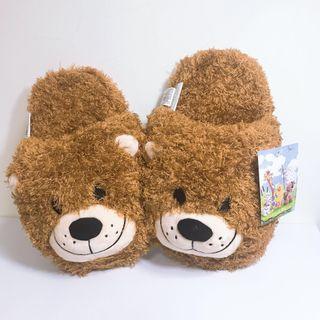 🚚 梨花熊 造型拖鞋