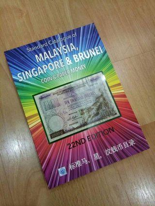 🚚 Malaysia, Singapore, Brunei Coins and Paper Book