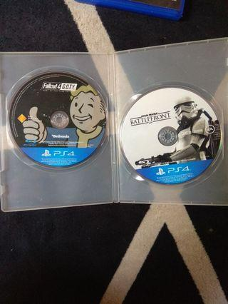 Sony Ps4 game 2pcs