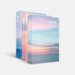 [PRE-ORDER] BTS THE NOTES OFFICIAL