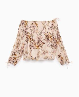 Wilfred's off the shoulder blouse