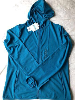 Brand New Uniqlo Women Airism UV Cut Long Sleeve Mesh Hoodie