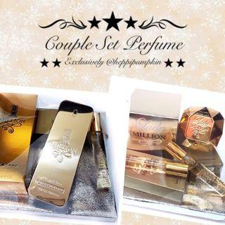 COUPLE PERFUME SET / SET HANTARAN PERFUME