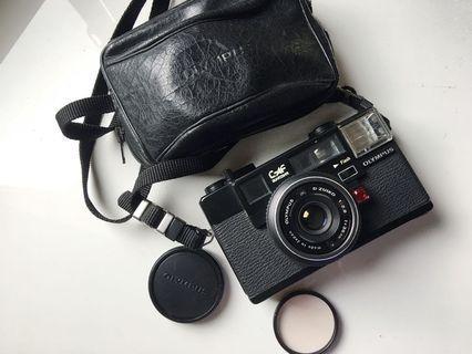 🚚 [配件齊全]Olympus C-AF 定焦大光圈 底片相機
