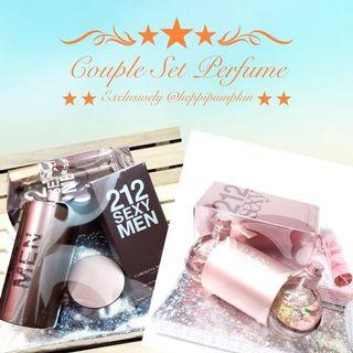 COUPLE SET PERFUME / SET HANTARAN PERFUME