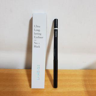 蘭芝超持色防水眼線筆(黑色)