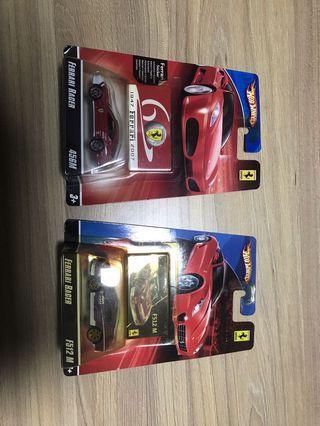 🚚 Hotwheels Ferrari racers