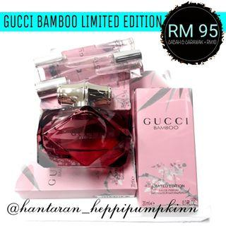 Set hantaran perfume / Gucci Bamboo limited edition