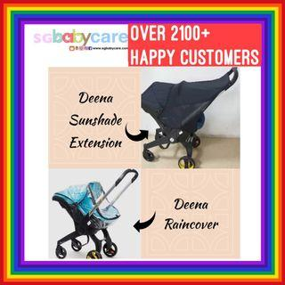 Deena Car Seat Stroller - Raincover / Canopy Extension