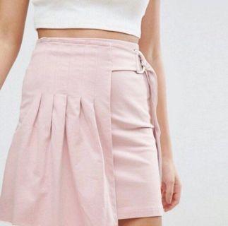 Pleated Wrap skirt #ENDGAMEyourEXCESS
