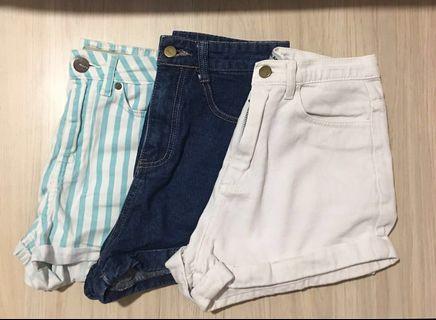 High Waist Denim Shorts #ENDGAMEyourEXCESS
