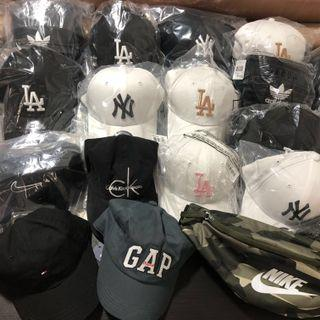 AUTHENTIC NEW ERA/ADIDAS/NIKE/GAP/CK CAP