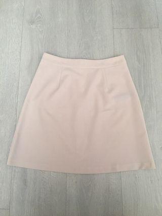 Pink A line skirt #ENDGAMEyourEXCESS