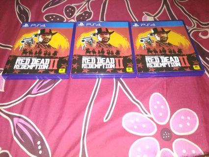 3 Game Red Dead Redemtion 2 PS4