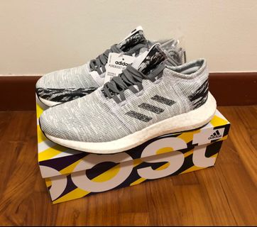 f71513a0870d8 Guaranteed Authentic New Adidas x Undefeated Pureboost go shoe in core  black colourway limited edition