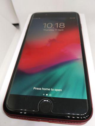Apple iPhone 8+ Plus Red 256Gb Mulus Fullset Surabaya