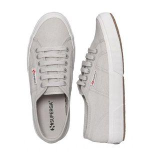 AUTHENTIC SUPERGA 2750 COTU CLASSIC UNISEX SNEAKERS IN GREY VAPOUR EU39😍 +FREE HOME DELIVERY! 🥰