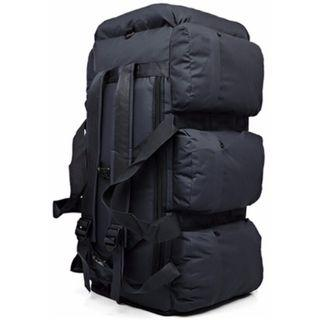 90L Jumbo Multi Purpose Travel Backpack - Includes Shoulder Sling - New